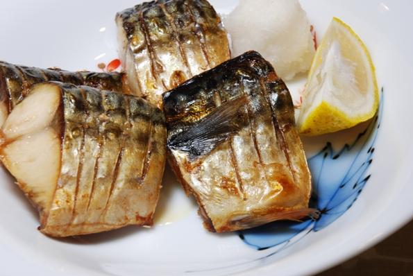 ★うさぎ食堂へようこそ★-サバの塩焼き