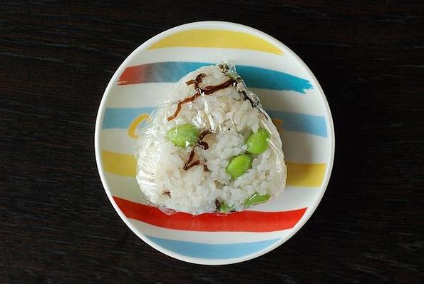 8.23枝豆と塩昆布