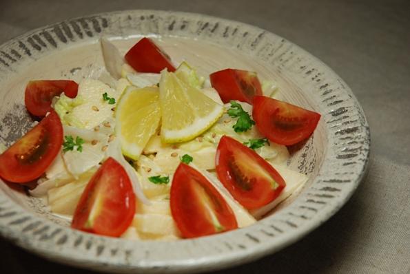 ★うさぎ食堂へようこそ★-白菜サラダ