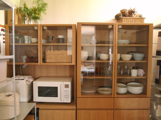 【無印良品】食器棚 カップボード 収納棚 飾り棚 □直接引き取り 東京23