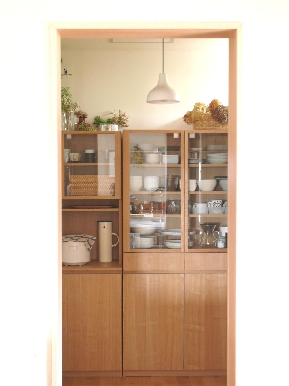 トラコミュ 食器棚<キッチン雑貨と収納アイディア> · * トラコミュ WEB内覧会*パントリー 無印良品 ...