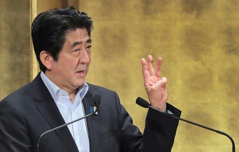 安倍首相10