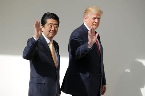トランプ大統領・安倍首相