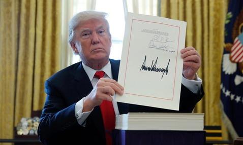 米トランプ大統領2
