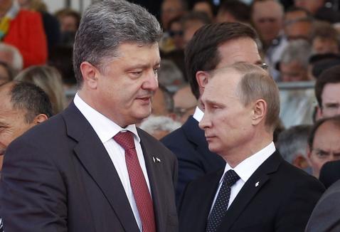 ポロシェンコ大統領・プーチン大統領