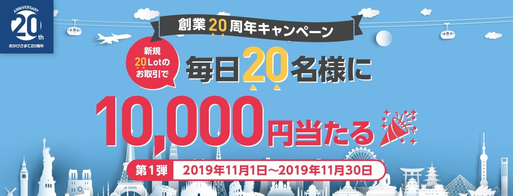 みんなのFX1万円キャンペーンa