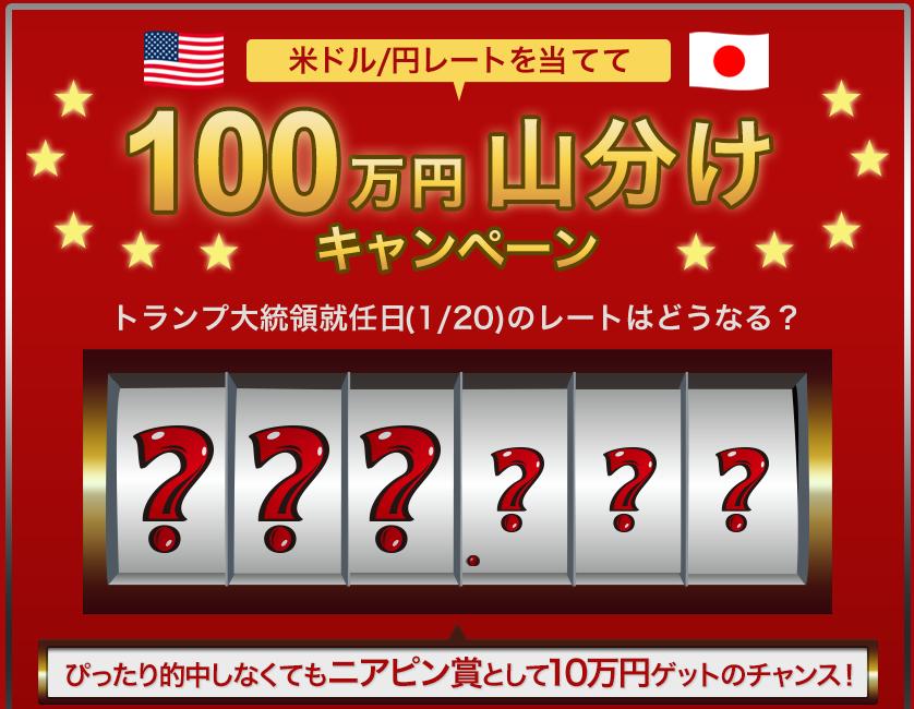 外為どっとコム100万円キャンペーン