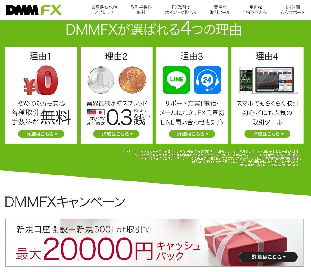 dmmfx高額キャッシュバック2