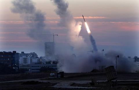 イスラエル・パレスチナミサイル