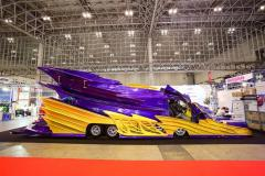 「全長12メートルのハイエース・・・!?」オートサロン史上最長のモンスターがコイツだ