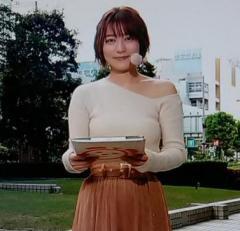 めざましの阿部華也子(23)スケスケ衣装で登場、朝からけしからんと話題に