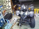50ccバギー修理