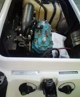 カワサキJS800SX-R エンジンルーム