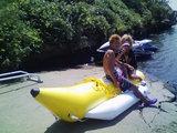 09 バナナボートとカップル
