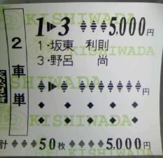 坂東利則引退レース : 競輪道