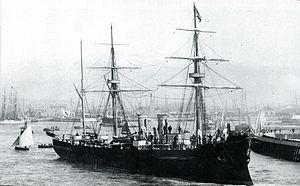 Japanese_cruiser_Unebi_1886