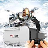 Vktech 携帯電話用3Dグラス 3Dメガネ 新しい携帯電話用3D眼鏡 CST-08 VR BOX コントローラ付き iOSとアンドロイドと互換性ができる