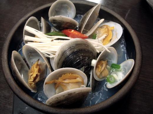チョゲタン(貝の旨味たっぷりのだし汁)