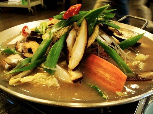 甘い韓国料理・プルコギチョンゴル