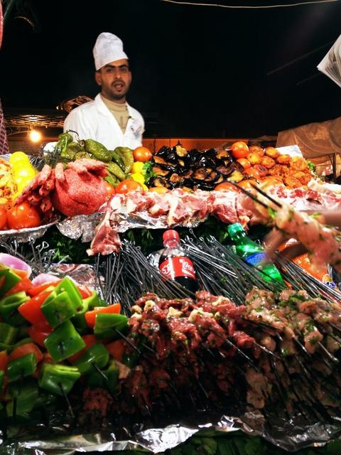 Morocco マラケシュの市場とタジン