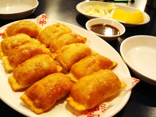 韓国の揚げ餃子、貝たっぷりチャンポン