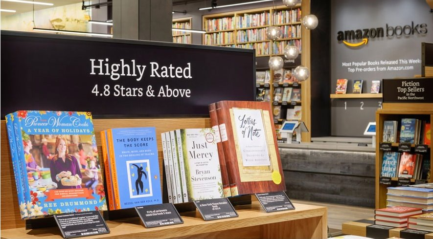 アマゾン リアル書店をオープン 本屋を破壊してきたベゾス氏が創った