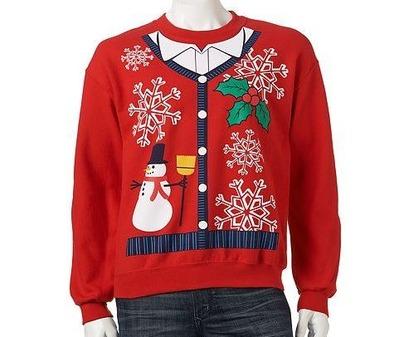 141216アグリークリスマスセーター