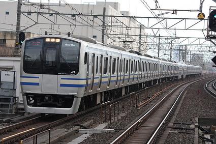 JR東日本E217系電車
