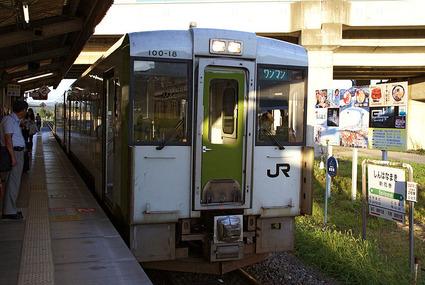 釜石線キハ100
