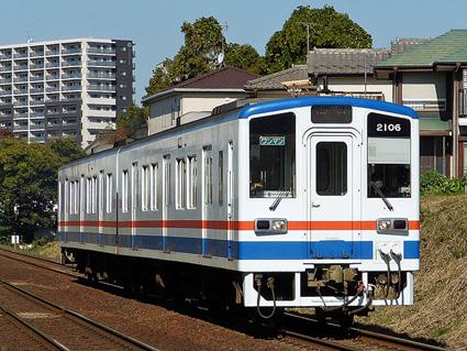 関東鉄道キハ2100形気動車