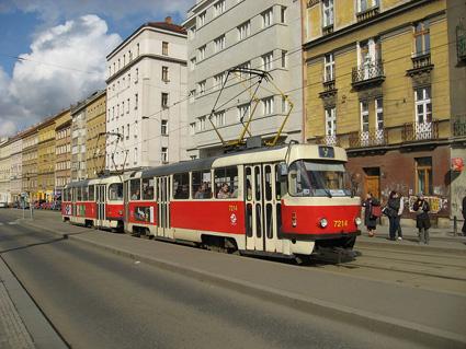 プラハ市電 22系統 Nádraží Hostivař ⇒ Bílá Hora : 前面展望 まとめ