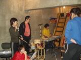 歌の練習の合間
