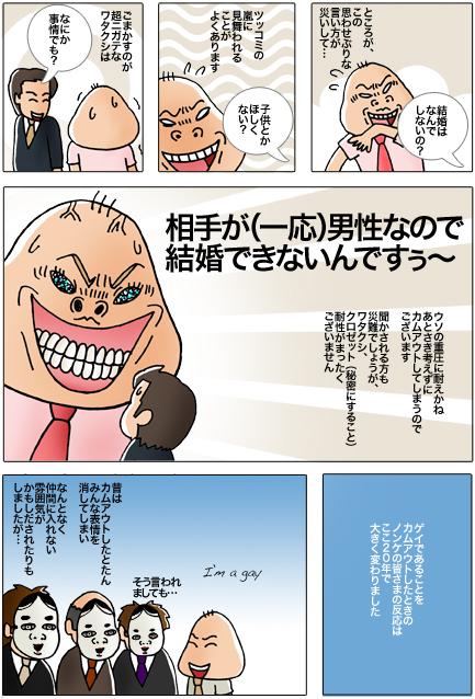【漫画】♂♂ゲイです、ほぼ夫婦です-3