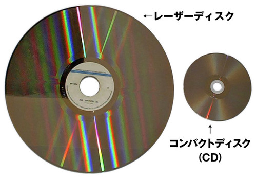 LaserDiscCD