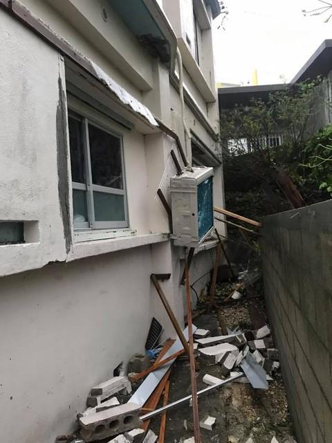 宮古島台風3