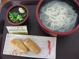 まるいち一宮店1028湯だめ+きつね寿司