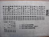矢田うどん0216お品書き