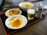 名麺堂北島店1129さっそく一杯