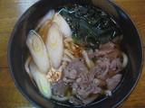 レストラン桃山0220肉うどん