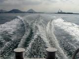 久しぶりの舟の旅1130