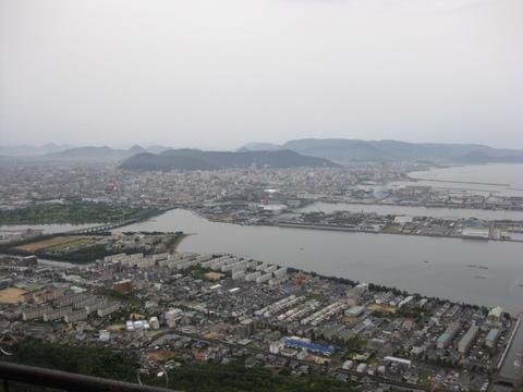 屋島から高松市内を望む1026