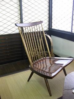 ジョージナカシマの椅子0510