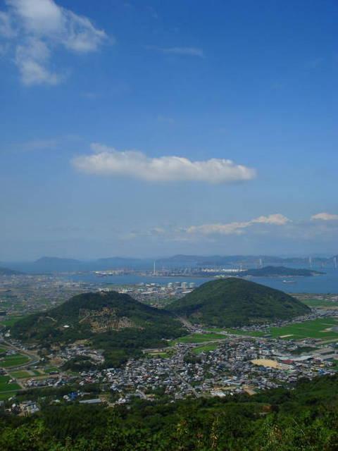 白峰パ〜クセンターより瀬戸大橋を望む0821