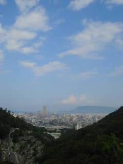 某山から高松を望む1009