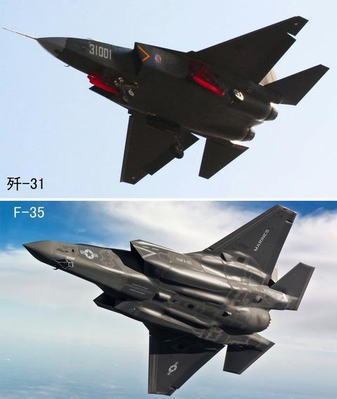 J-31とF-35