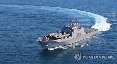 【韓国軍】韓国海軍艦艇3隻3