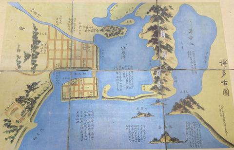 まあ、昔の福岡はかなり内陸まで海だったからな。