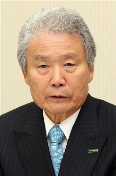 経団連の榊原定征会長
