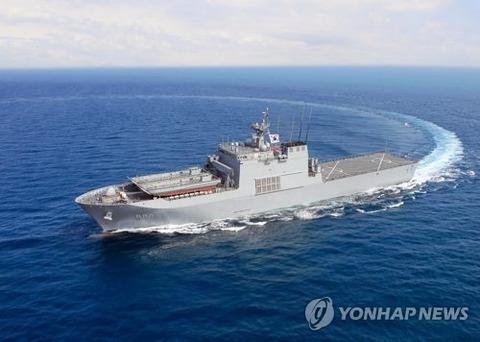 【韓国軍】韓国海軍艦艇3隻1