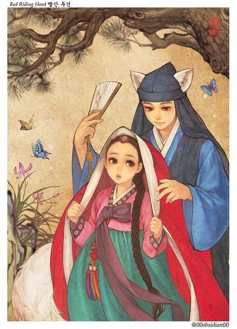 チマチョゴリ版の『アナと雪の女王』6